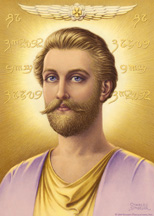Ascended Master Saint Germain by Sindelar