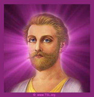 Saint Germain, y la llama violeta