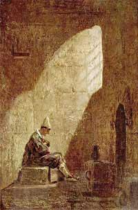 nMiercoles de Ceniza por Carl Spitzweg 1808
