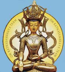 Ratnasambhava-Buda-Dhyani