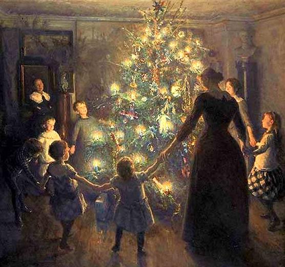 Glade Jul por Viggo Johansen