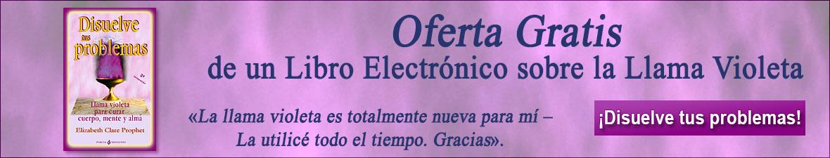 Un capítulo del libro electrónico sobre la Llama Violeta