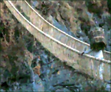 Reparad el puente para poder cruzarlo