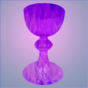 violet flame chalice