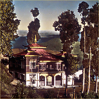 Casa cerca de Darjeeling India