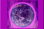 terra en la llama violeta