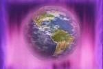 terra en llama violeta