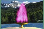 Llama violeta por la curacion